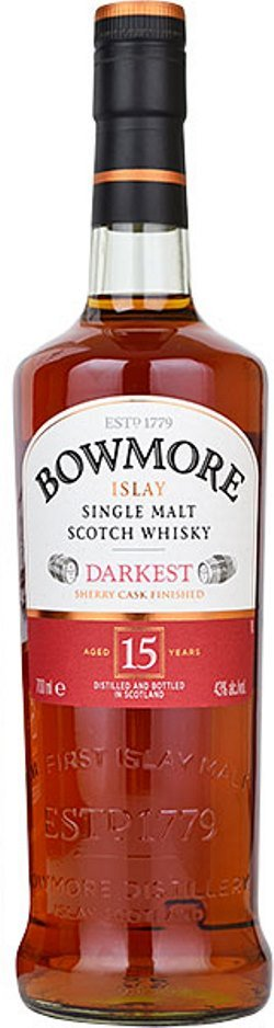The Dramble reviews Bowmore Darkest 15 year old