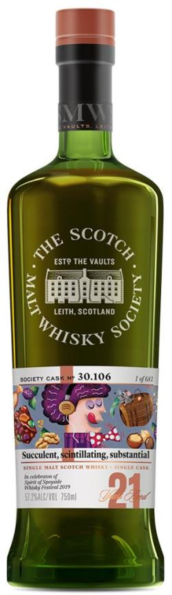 The Dramble reviews SMWS 30.106 Succulent, scintillating, substantial