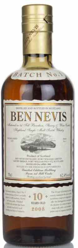 The Dramble reviews Ben Nevis 10 year old Batch 1