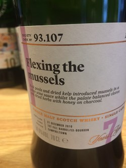 The Dramble reviews SMWS 93.107 Flexing the mussels