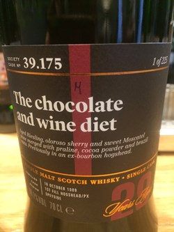 The Dramble reviews SMWS 39.175 The chocolate and wine diet