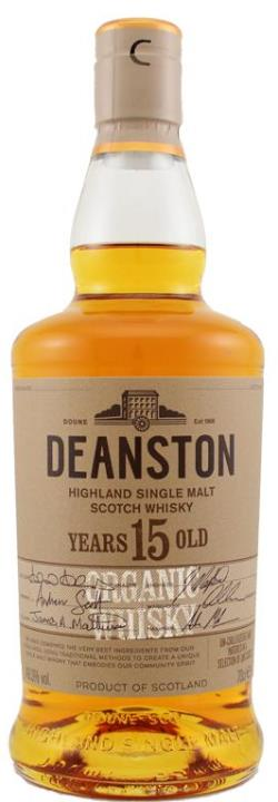 The Dramble reviews Deanston 15 year old Organic