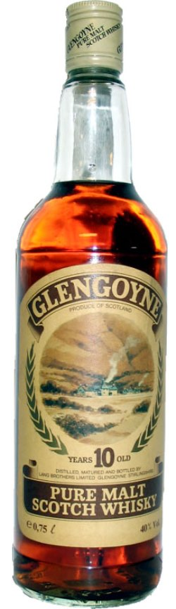 The Dramble reviews Glengoyne 10 year old Pure Malt 1980's