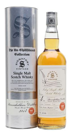 The Dramble reviews Bunnahabhain Staoisha 2014 4 year old Signatory - TWE 20th Anniversary