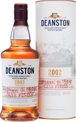 The Dramble reviews Deanston 2002 Organic Oloroso Finish - Distell Limited Release Collection 2019