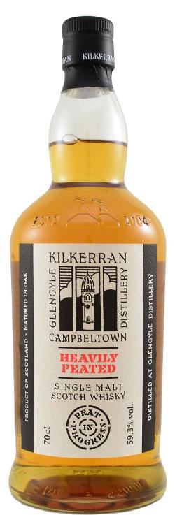 The Dramble reviews Kilkerran Heavily Peated - Peat in Progress
