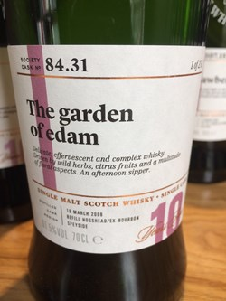 The Dramble reviews SMWS 84.31 The garden of edam