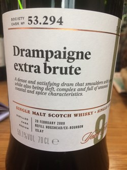 The Dramble reviews SMWS 53.294 Drampaigne extra brut