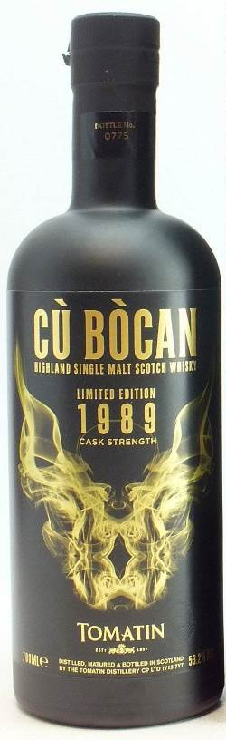 The Dramble reviews Tomatin Cu Bocan 1989 Vintage