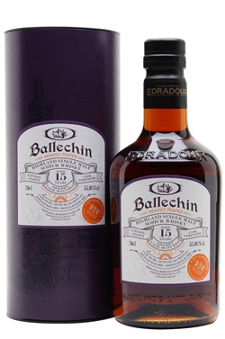 The Dramble reviews Ballechin 2003 15 year old TWE Exclusive