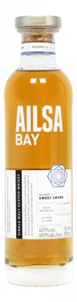 The dramble reviews Ailsa Bay 1.2 Sweet Smoke