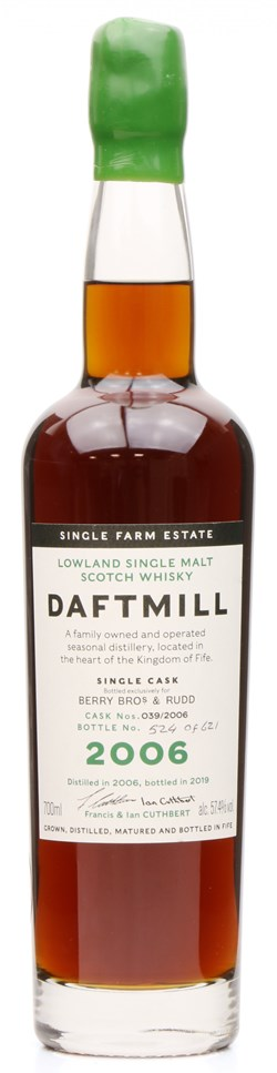 The Dramble reviews Daftmill 2006 Berry Bros & Rudd Single Cask
