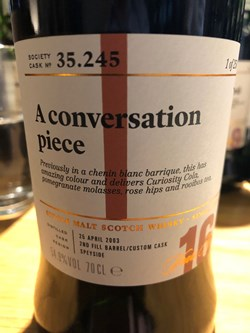 The Dramble reviews SMWS 35.245 A conversation piece