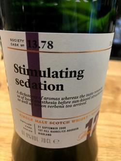The Dramble reviews 13.78 Stimulating seduction