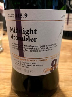 The Dramble reviews 115.9 Midnight drambler