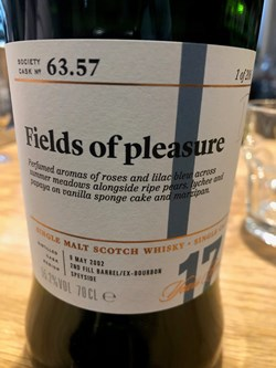 The Dramble reviews SMWS 63.57 Fields of pleasure