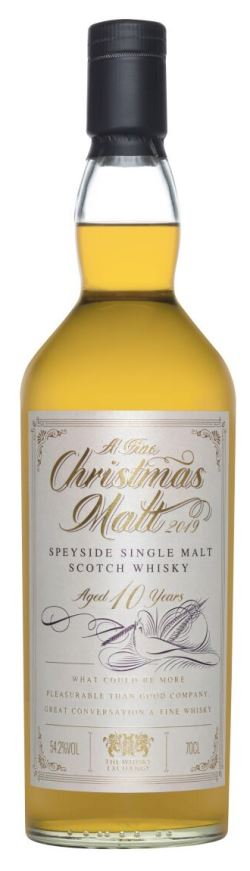 The Dramble reviews A Fine Christmas Malt 2019