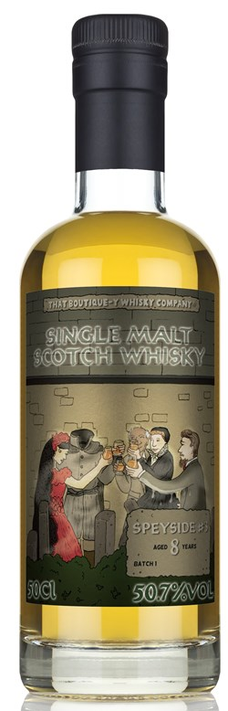 The Dramble reviews that Boutique-y Whisky Company Speyside #3 8 Year Old Batch 1