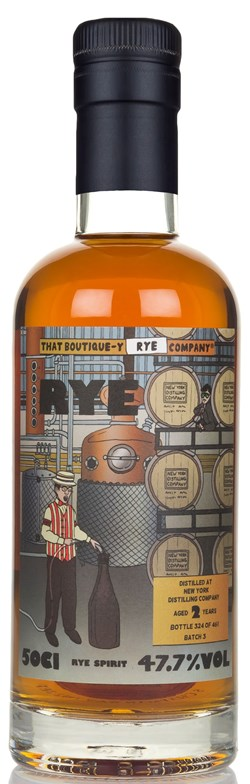 The Dramble reviews That Boutique-y Whisky Company New York Distilling Company 2 Year Old - Batch 2