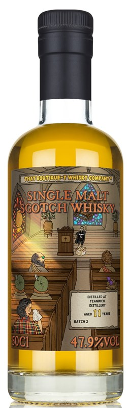 The Dramble reviews That Boutique-y Whisky Company Teaninich 11 year old Batch 2
