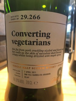 The Dramble reviews SMWS 29.266 Converting vegetarians