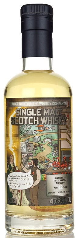 The Dramble reviews That Boutique-y Whisky Company Royal Brackla 12 Year Old Batch 1