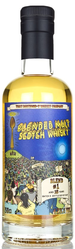 The Dramble reviews That Boutique-y Whisky Company Blended Malt #1 18 Year Old Batch 3