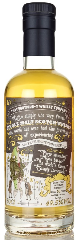 The Dramble reviews That Boutique-y Whisky Company Speyburn 10 Year Old Batch 3