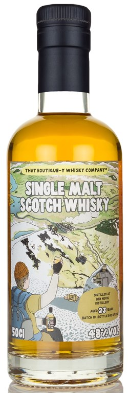 The Dramble reviews That Boutique-y Whisky Company Ben Nevis 23 Year Old Batch 10