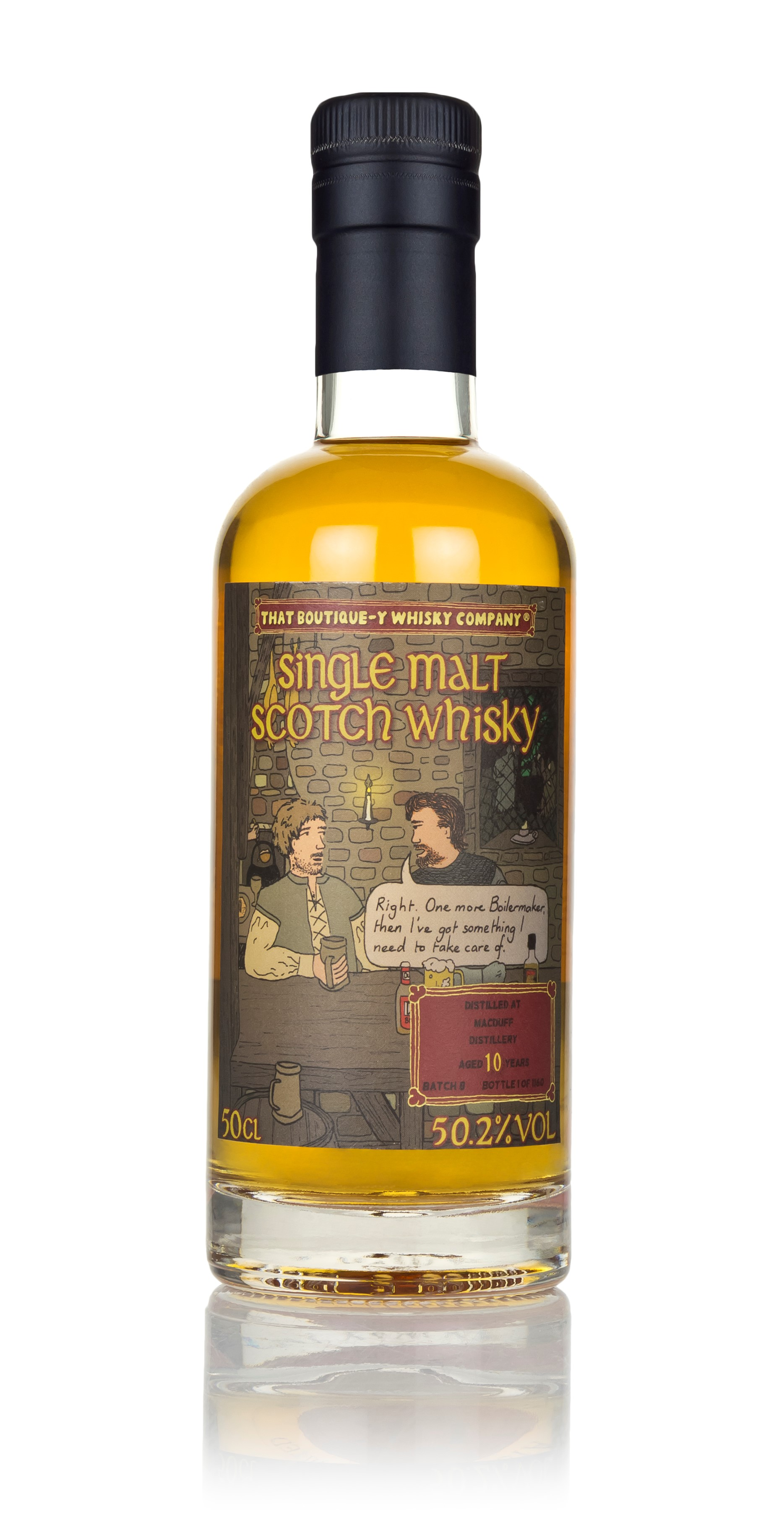 The Dramble reviews That Boutique-y Whisky Company Macduff 10 Year Old Batch 8