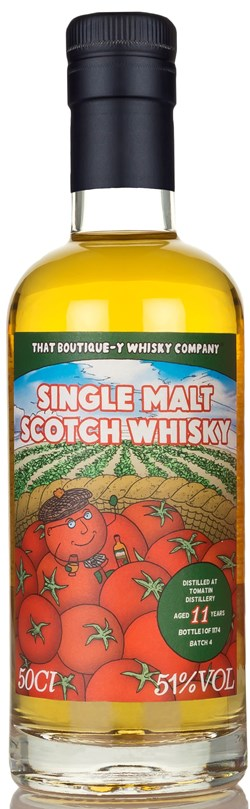 The Dramble reviews That Boutique-y Whisky Company Tomatin 11 Year Old Batch 4