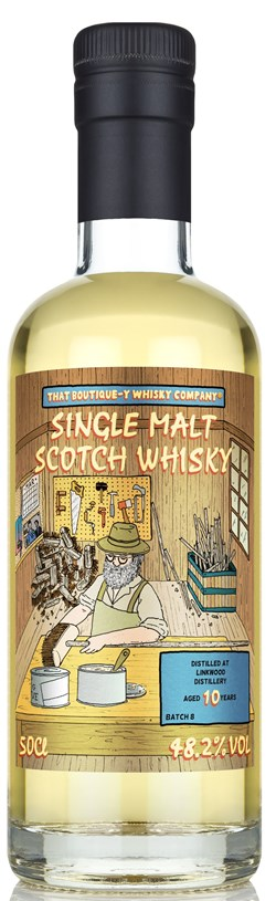 The Dramble reviews That Boutique-y Whisky Company Linkwood 10 Year Old Batch 8