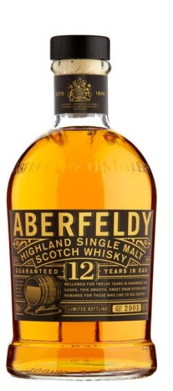The Dramble's tasting notes for Aberfeldy 12 year old