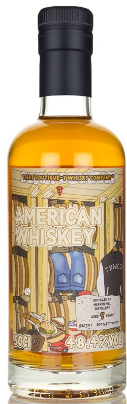 The Dramble reviews That Boutique-y Whisky Company Heaven Hill American Whiskey 9 Year Old  Batch 1