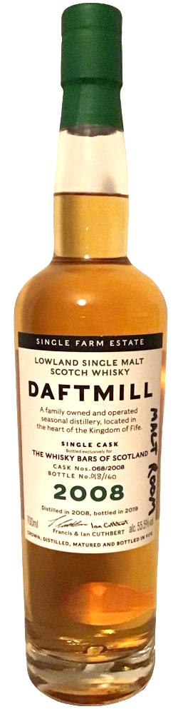 The Dramble reviews Daftmill 2008 cask 068 The Independent Whisky Bars of Scotland