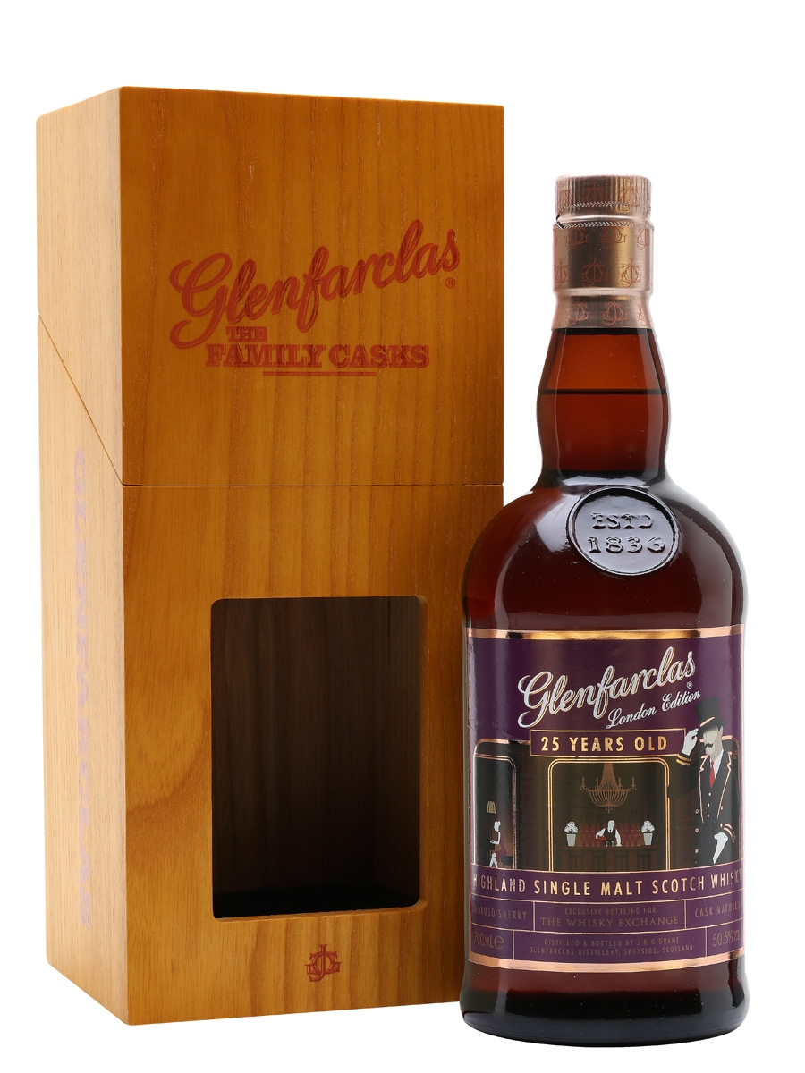 The Dramble reviews Glenfarclas 25 year old London Edition TWE Exclusive