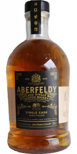 The Dramble's tasting notes for Aberfeldy Single Cask #21444