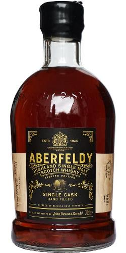 The Dramble's tasting notes for Aberfeldy Single Cask #5