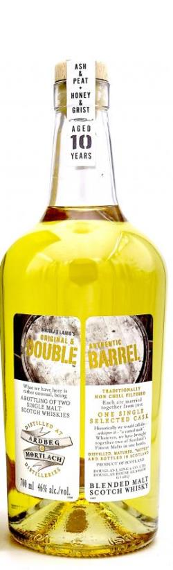 The Dramble reviews Douglas Laing Ardbeg & Mortlach Double Barrel Green Welly Stop Exclusive