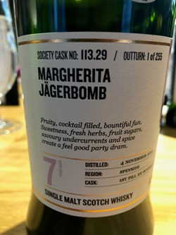 The Dramble reviews SMWS 113.29 Margherita jagerbomb