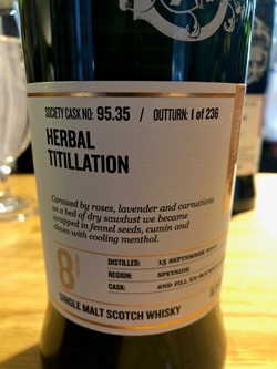 The Dramble reviews SMWS 95.35 Herbal titillation