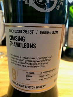 The Dramble reviews SMWS 26.137 Chasing chameleons