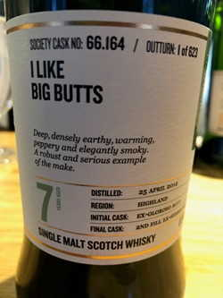 The Dramble reviews SMWS 66.164 I like big butts