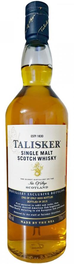The Dramble reviews Talisker Distillery Exclusive 2019