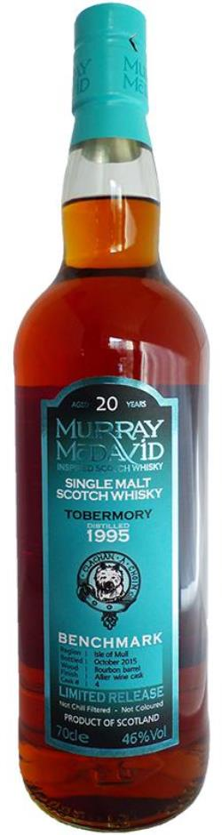 The Dramble reviews Murray McDavid Tobermory 1995 20 year old Allier Wine Cask Finish