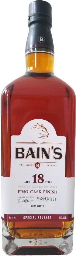 The Dramble reviews Bain's 18 year old Fino Cask Finish