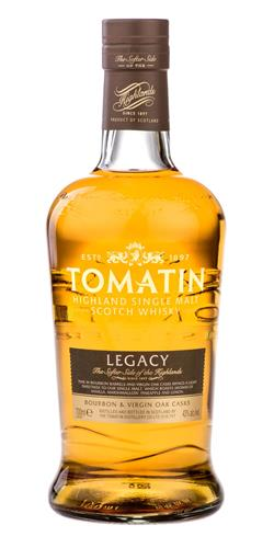 The Dramble's tasting notes for Tomatin Legacy