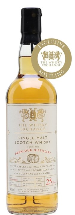 The Dramble reviews Aberlour 1993 25 year old Single Casks by The Whisky Exchange