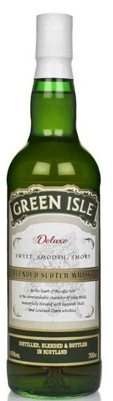 The Dramble reviews Green Isle Deluxe Blended Scotch Whisky