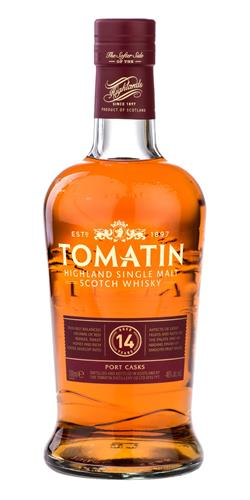 The Dramble's tasting notes for Tomatin 14 year old Portwood Finish
